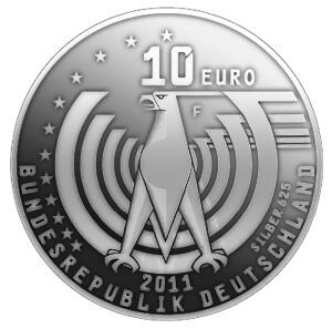 10 Eur Gedenkmünzen Künftig Ohne Silber