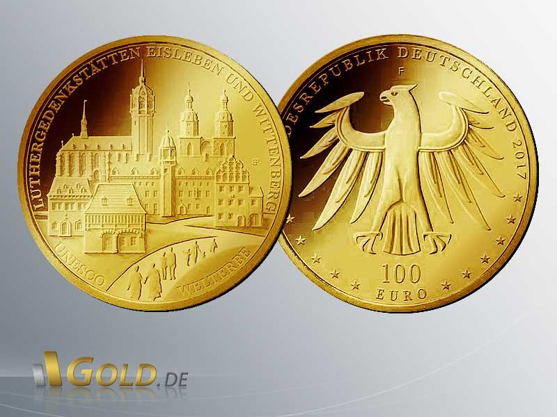 Goldeuro 2017 Luthergedenkstätten Eisleben U Wittenberg