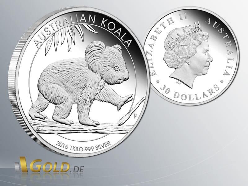 Koala 2017 Silbermünze