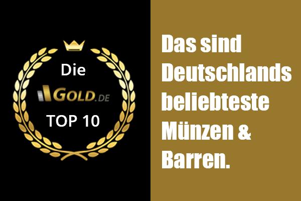 Gold anlegen: Beliebteste Münzen und Barren