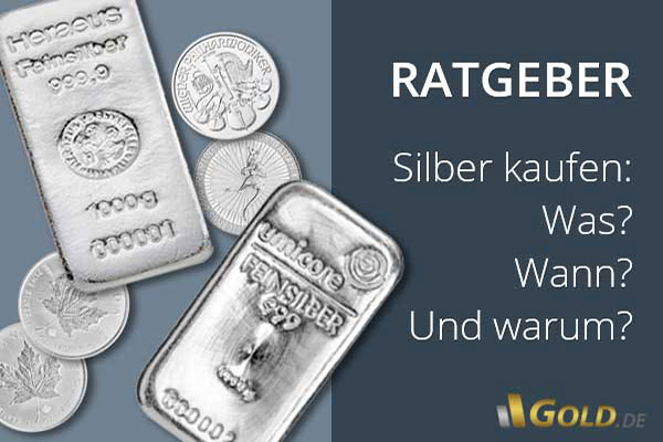Ratgeber Silber kaufen