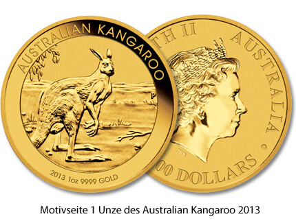 Kangaroo Gold 2013 1oz