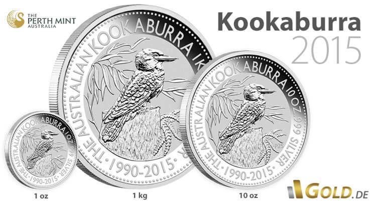 Kookaburra 2015 Silbermünze