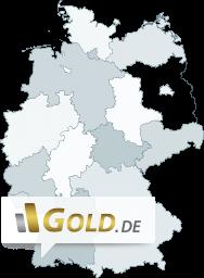 Karte Goldhändler Deutschland