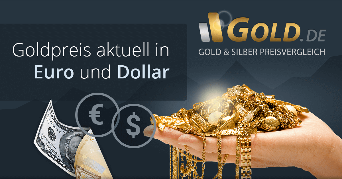 Goldpreis Aktuell In Euro Und Us Dollar