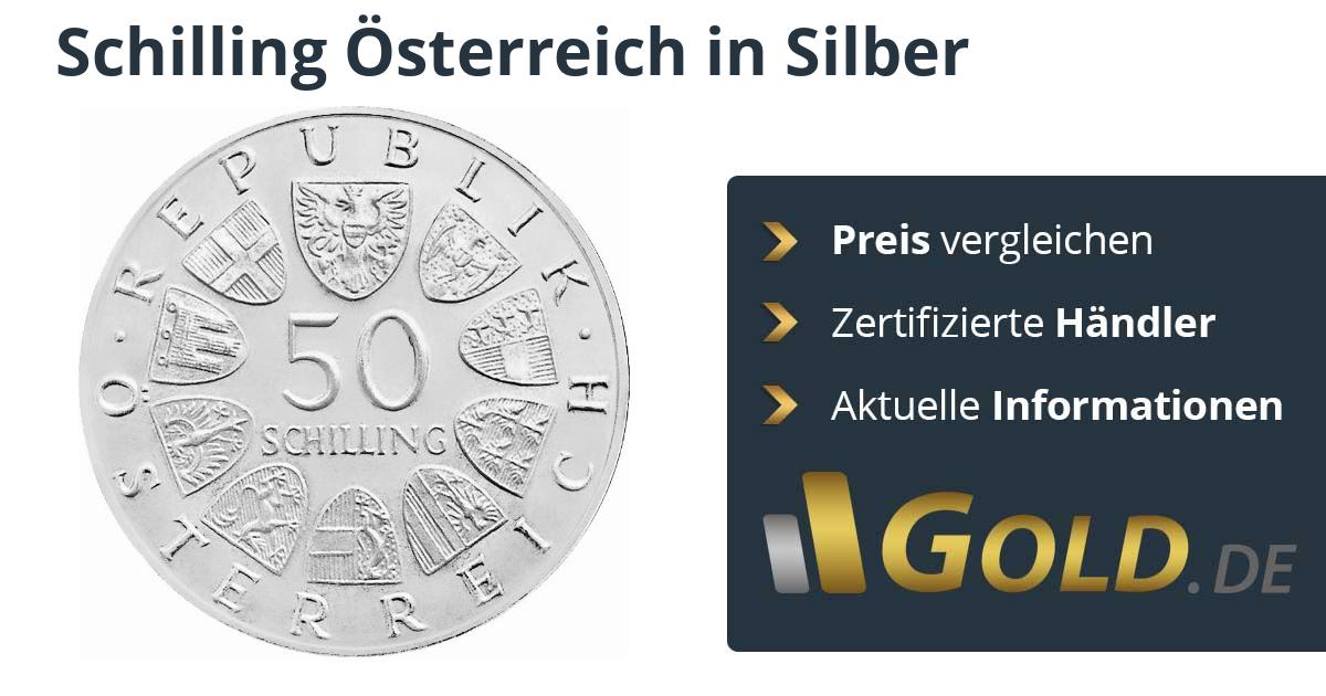 Schilling österreich Silbermünze Kaufen Goldde