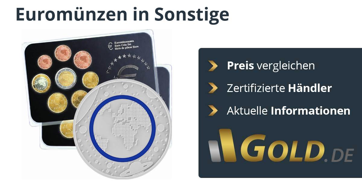 Euromünzen Sätze Kaufen Mit Goldde
