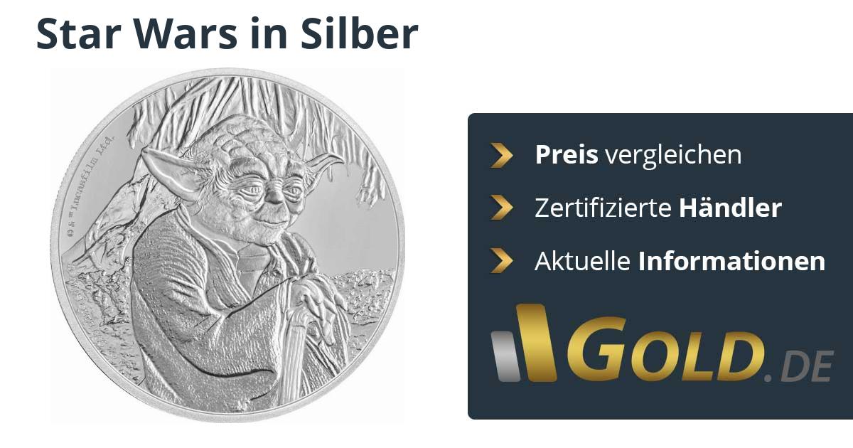 Star Wars Silbermünzen Preise Vergleichen Und Kaufen