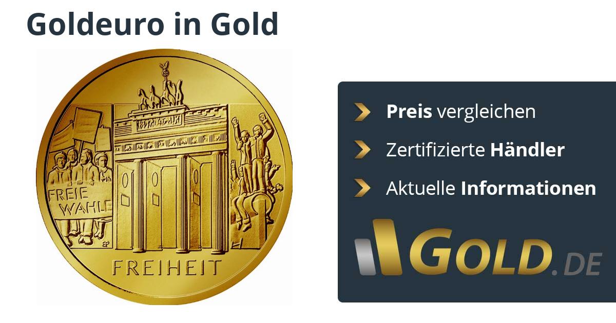 100 Euro Goldeuro Deutschland Kaufen Preise Vergleichen Mit Goldde
