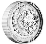 Drache Silber 1 oz Proof High Relief