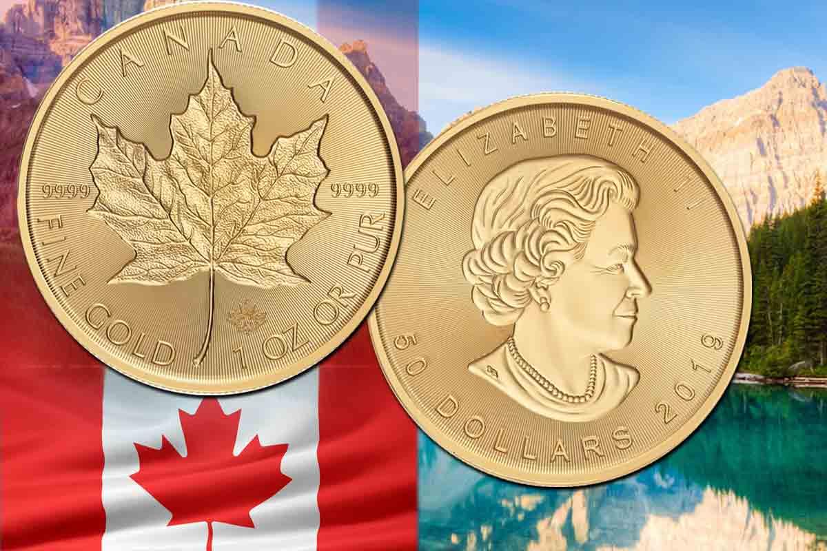 Incuse Gold Maple Leaf 2019 jetzt erhältlich