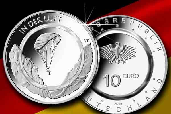 """10-Euro-Sammlermünze """"In der Luft"""" jetzt erhältlich"""