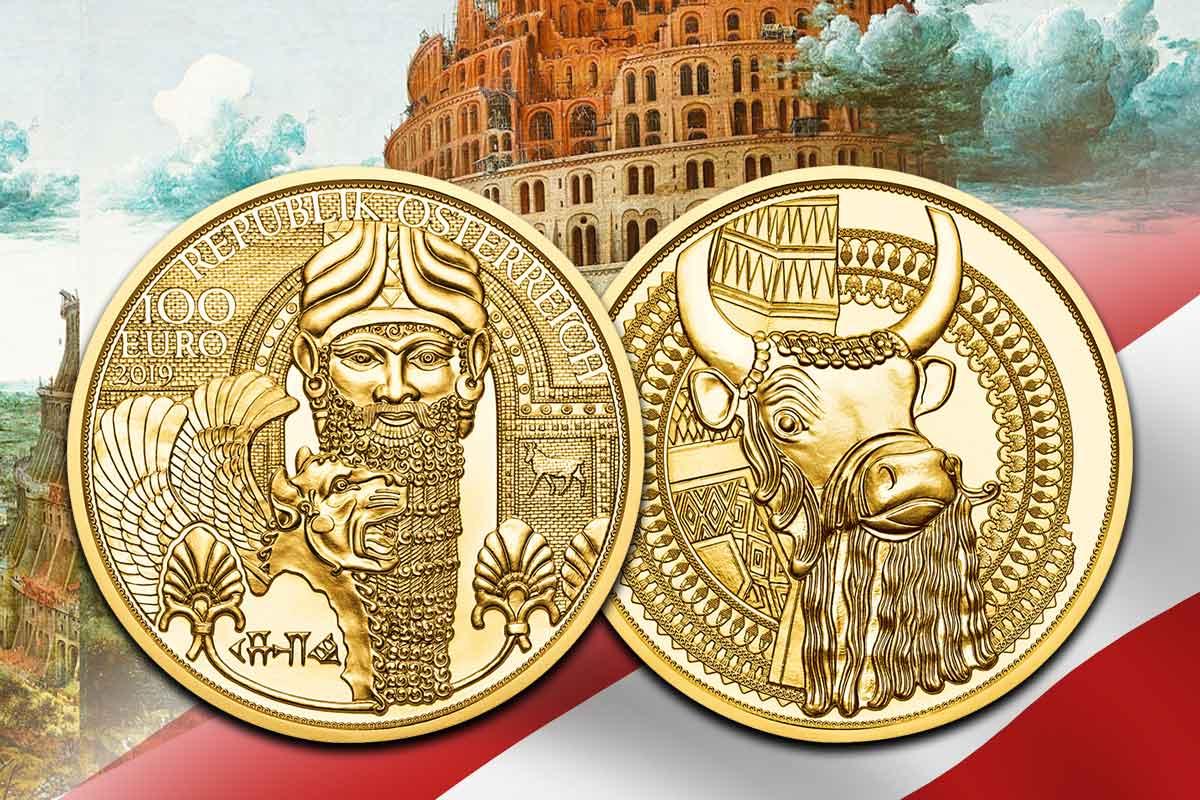 100-Euro Österreich: Magie des Goldes – Gold Mesopotamiens - Neu hier!