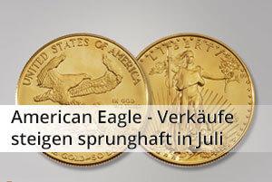 American Eagle - Verkäufe steigen sprunghaft in Juli