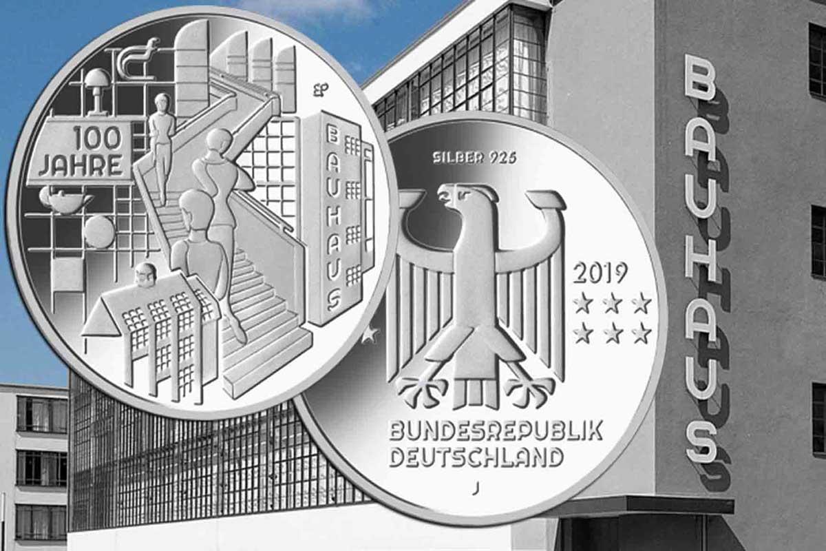 20 Euro Gedenkmünze 2019 BRD - 100 Jahre Bauhaus