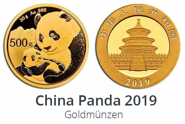 2019 China Panda Gold 1 kg