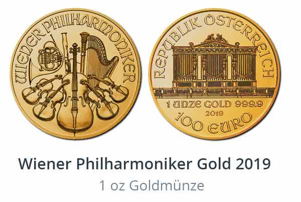 2019 Wiener Philharmoniker Gold