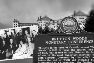 Bretton Woods 1944 - Einführung des Gold-Dollar-Standards