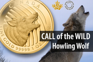 Call of the Wild - Goldmünzen-Serie der Royal Canadian Mint