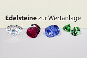 Edelsteine Investment: Anlage in Diamanten, Rubin, Saphir und Smaragd