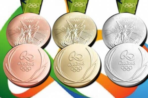 Rio 2016: Wieviel Gold, Silber steckt in den Olympischen Medaillen?