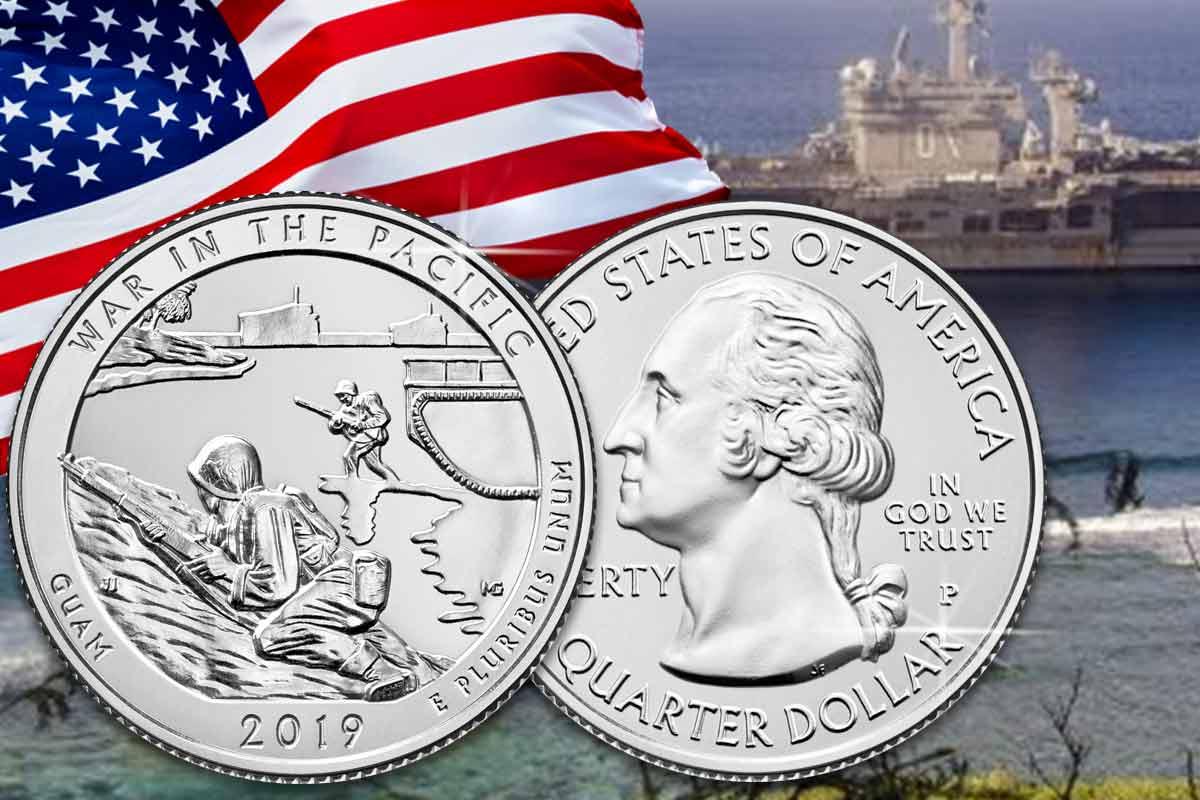 America the Beautiful Guam 2019 Silber – Hier vergleichen