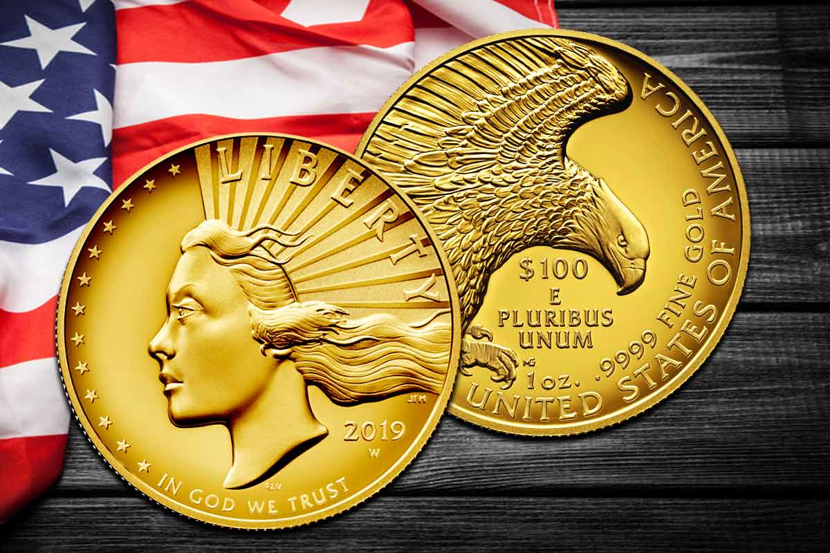 American Liberty 2019 Gold – Jetzt High Relief