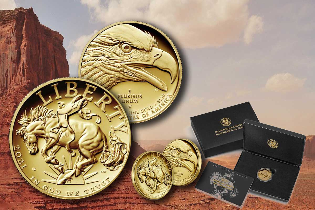 American Liberty 2021 Gold – neues Motiv - hier ansehen!