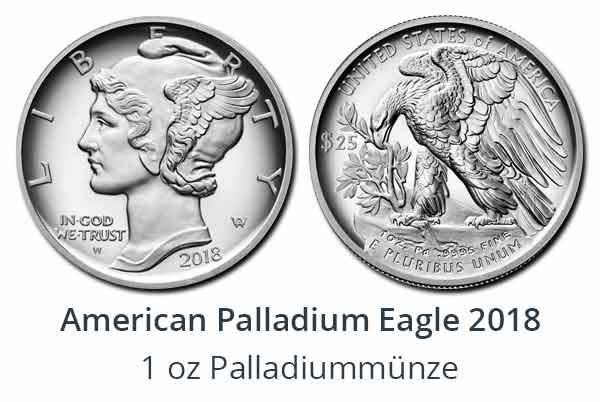 American Palladium Eagle 2018
