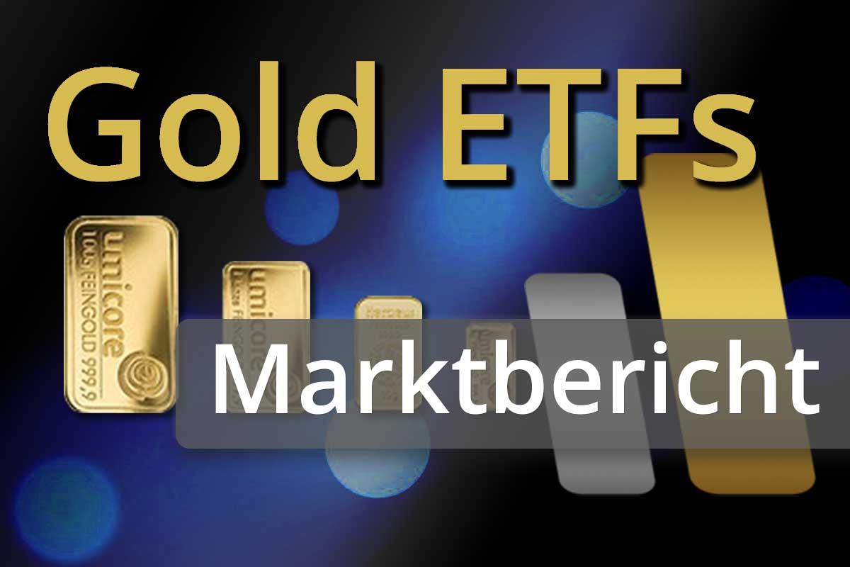 Anleger greifen bei Gold-ETFs und -Futures zu