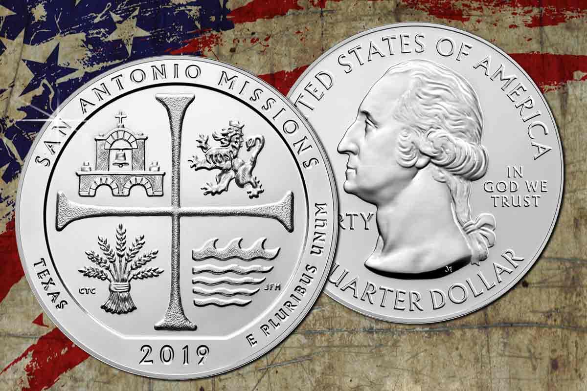 Neu: America the Beautiful 2019 – San Antonio Missions Texas