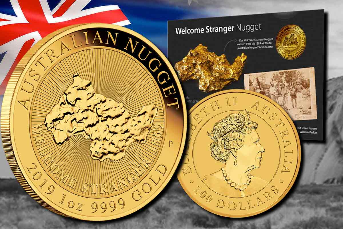 Neu! Australian Nugget in Gold 2019