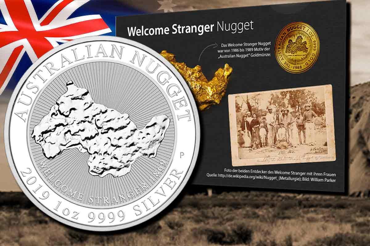 Neue Serie - Australian Nugget Silber 2019