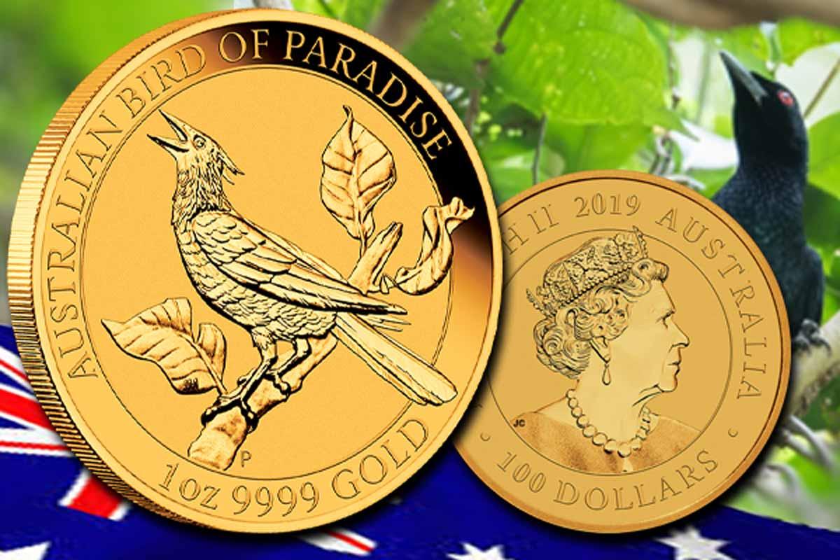 Birds of Paradise Gold - Motiv 2019 jetzt hier!
