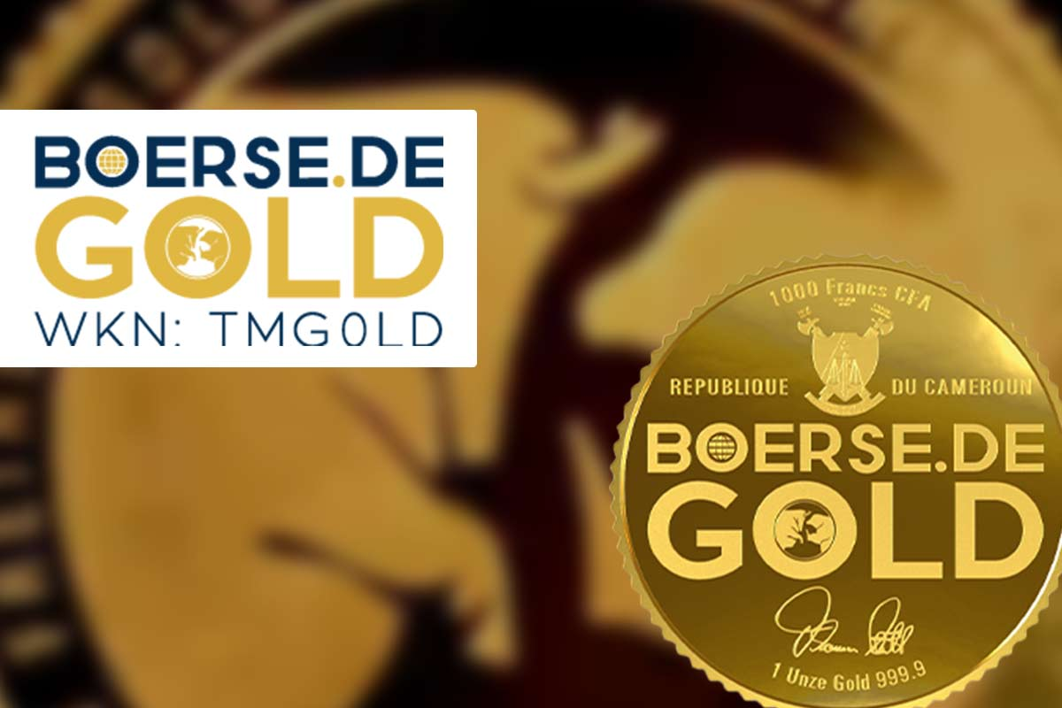 "boerse.de-Gold: Neuer Gold-ETC mit ""grünem Touch"""