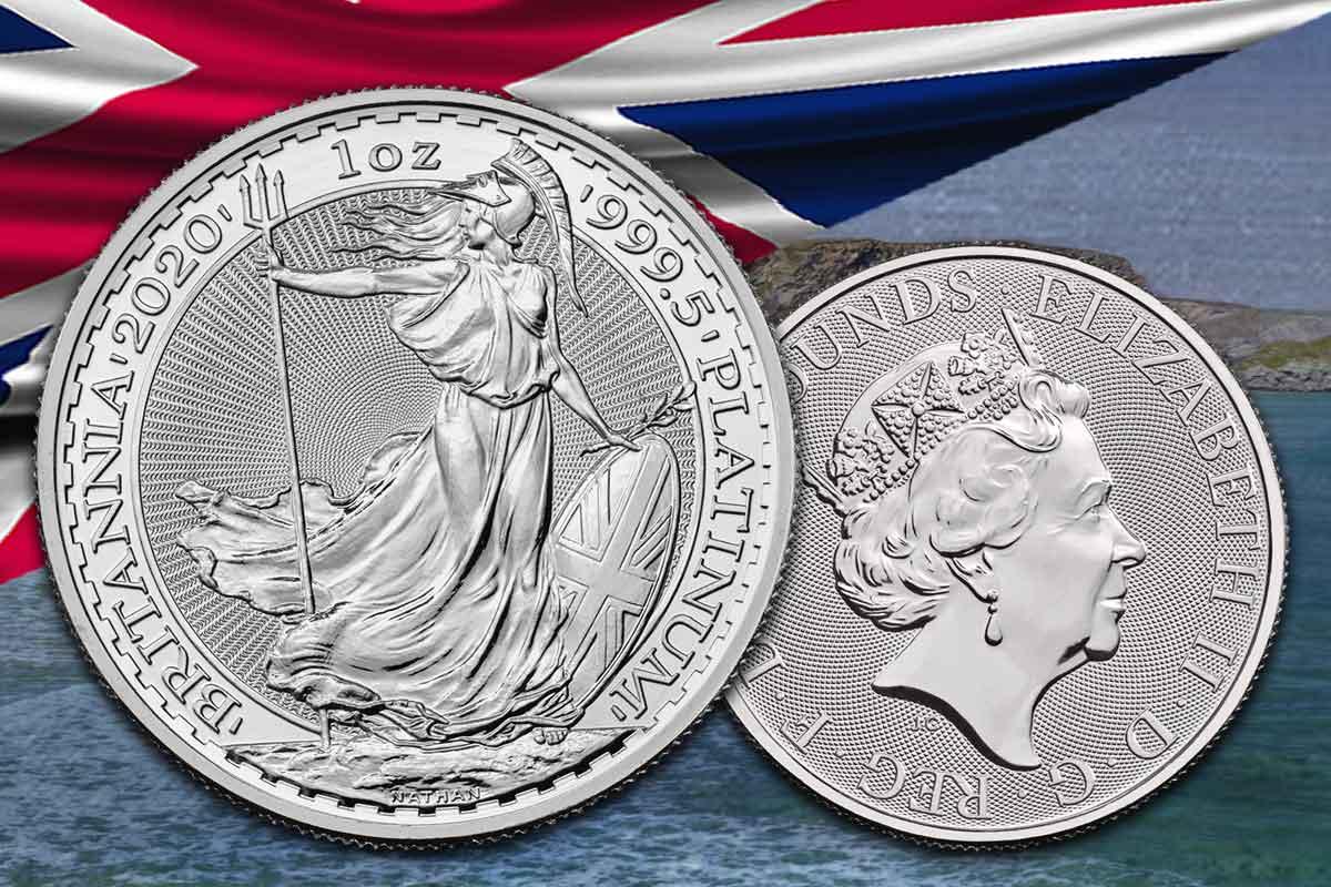 Britania 1 oz Platin 2020 - Jetzt neu!