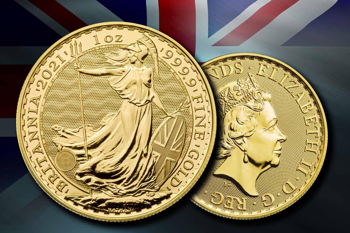 """Britannia 2021: Die """"sicherste Goldmünze"""" jetzt vergleichen!"""
