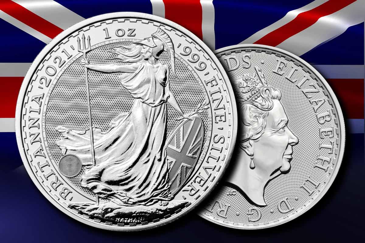 Britannia Silber 2021 - Neue Sicherheitsmerkmale!