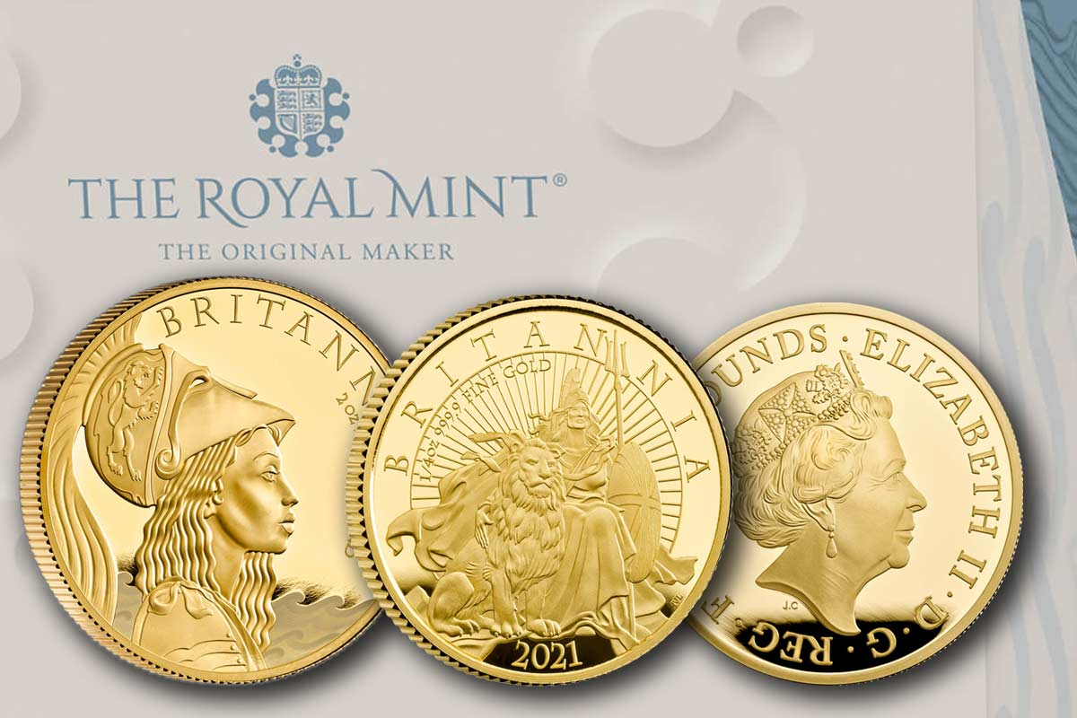 Britannia 2021 Gold Proof + Premium Collection: Neu gleich anschauen!