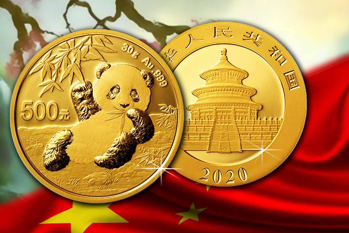 China Panda Gold 2020 - Jetzt neu!