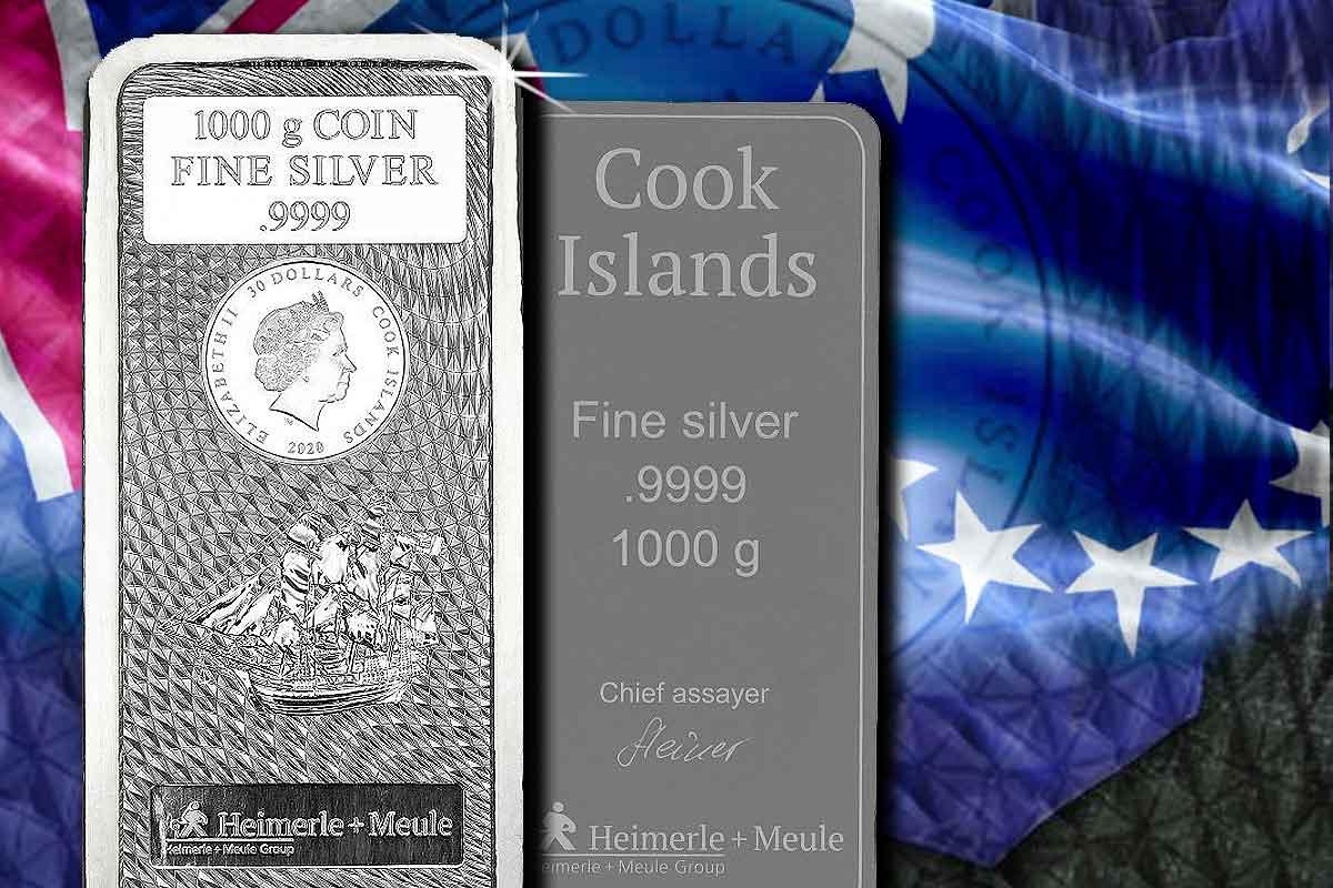 Cook Islands Münzbarren 1 kg Silber 2020: Jetzt im Preisvergleich!