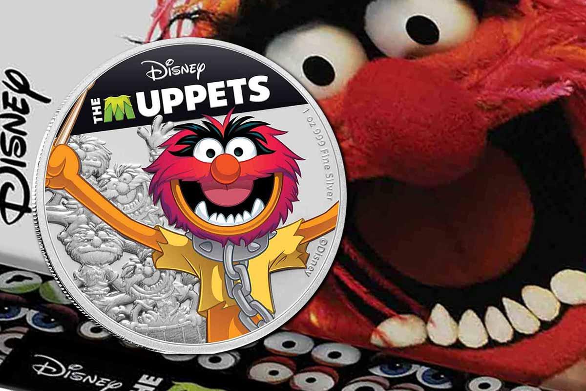 Disney: Muppets Animal - 1 oz Silbermünze koloriert- Jetzt hier!