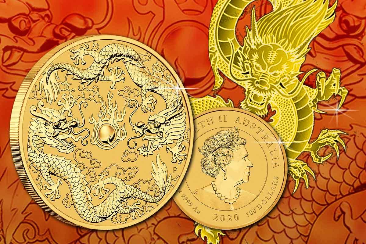 Dragon & Dragon 2020 Goldmünze - Jetzt neu!