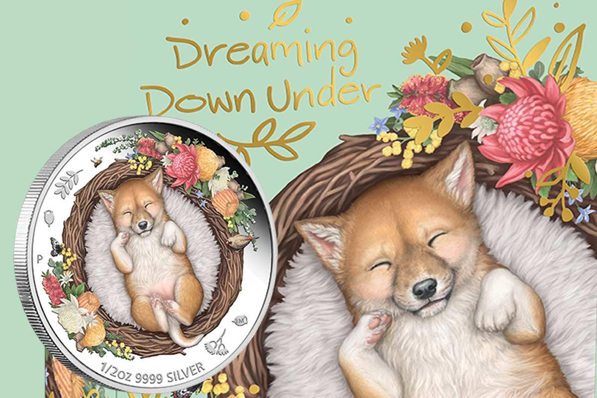 Neues Motiv: Dreaming Down Under - Dingo 2021