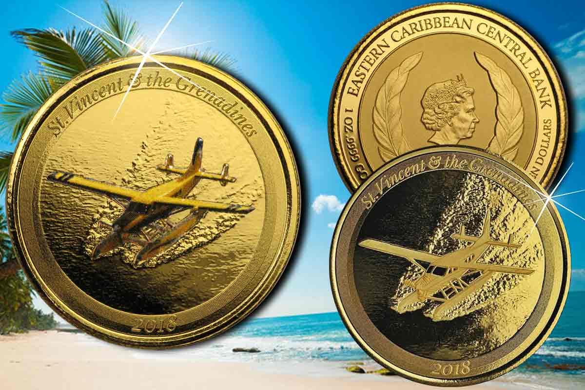 Eastern Caribbean (EC8) Gold - St. Vincent jetzt erhältlich