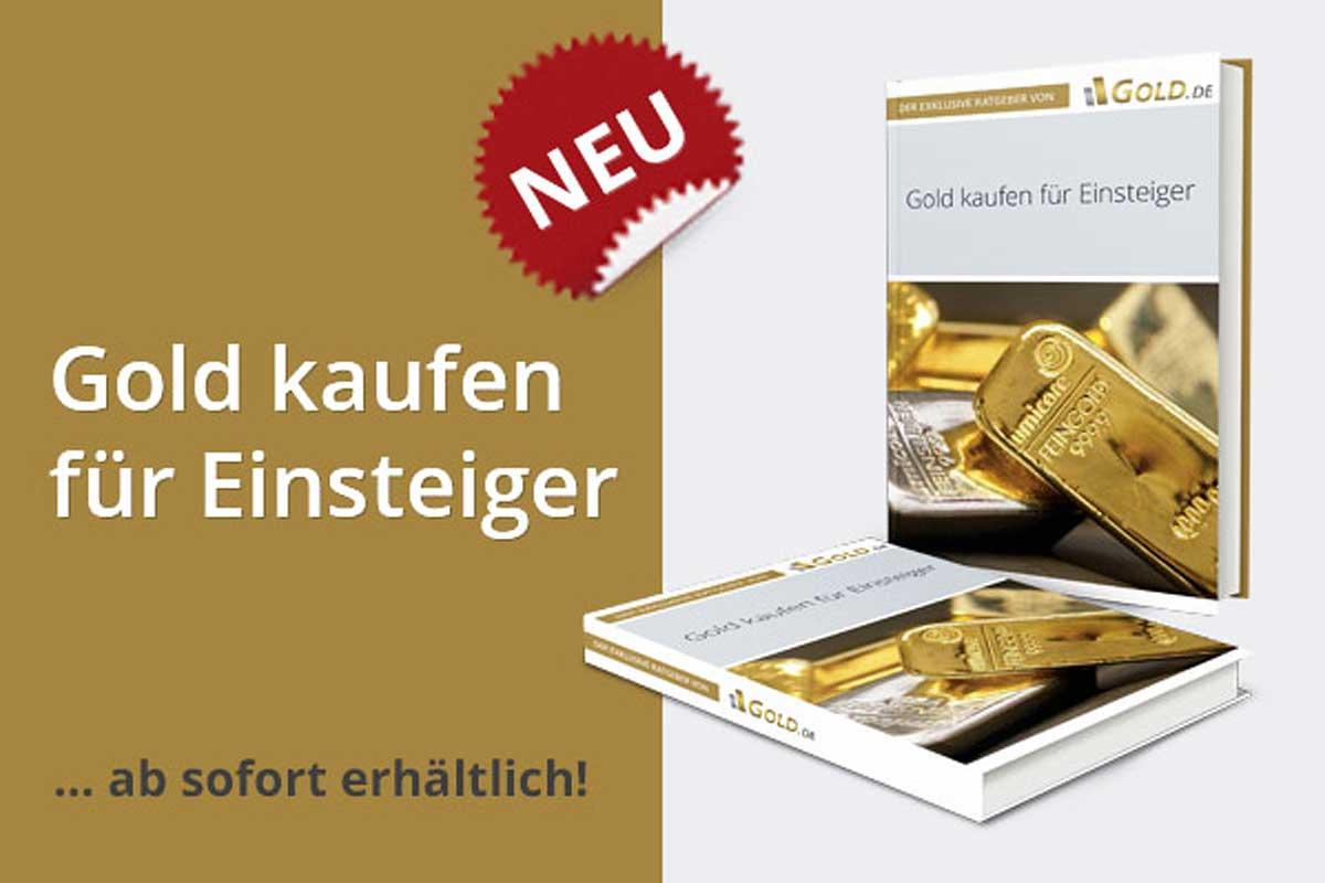 """Jetzt erhältlich: Der Gold.de Ratgeber """"Gold kaufen für Einsteiger"""""""