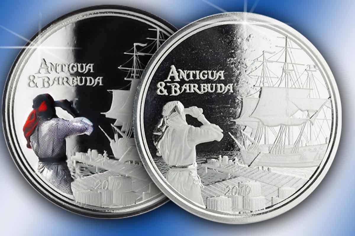 Neu hier: Antigua & Barbuda 2019 - Eastern Caribbean Silber