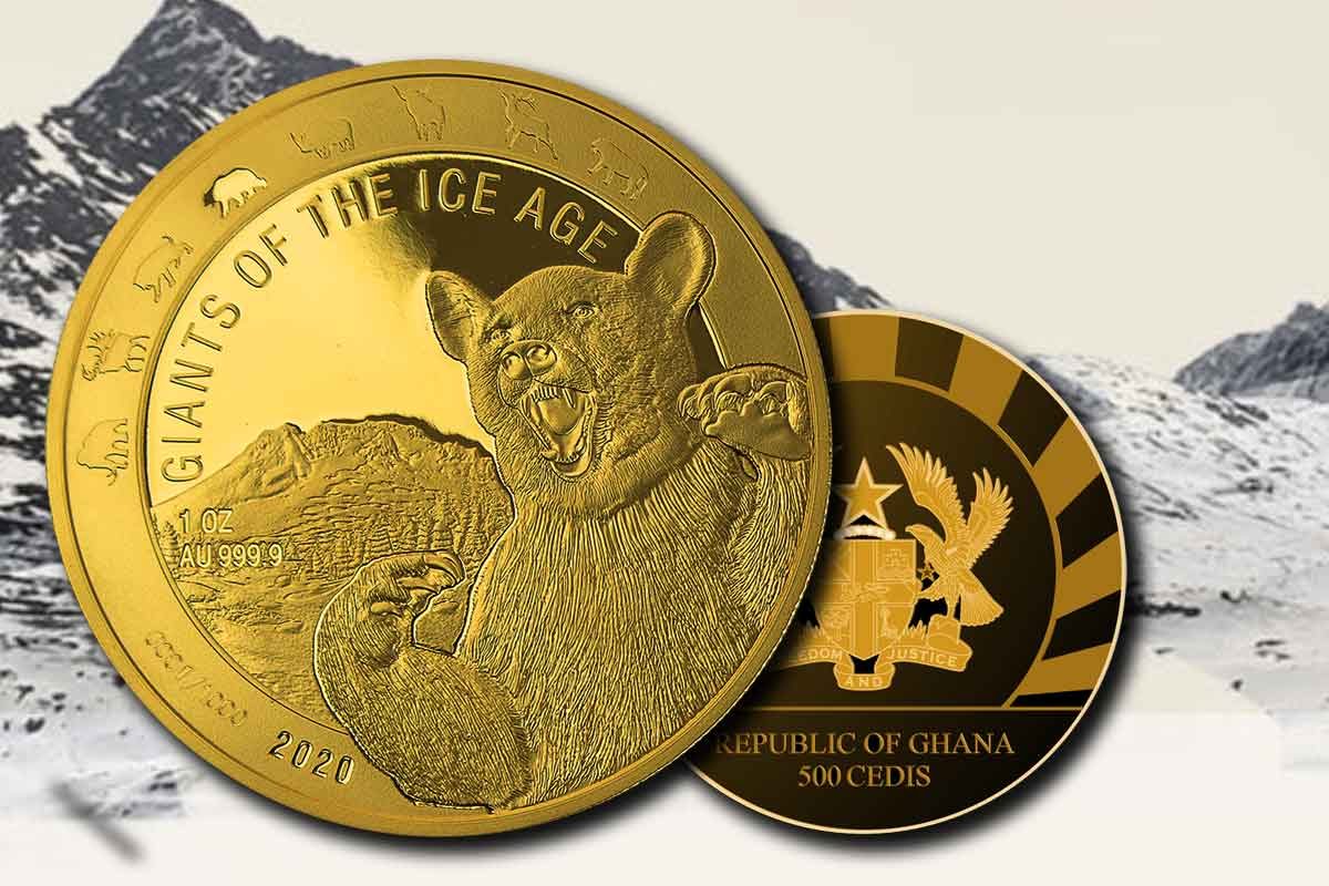 Giants of the Ice Age - Höhlenbär in Gold: Jetzt hier!
