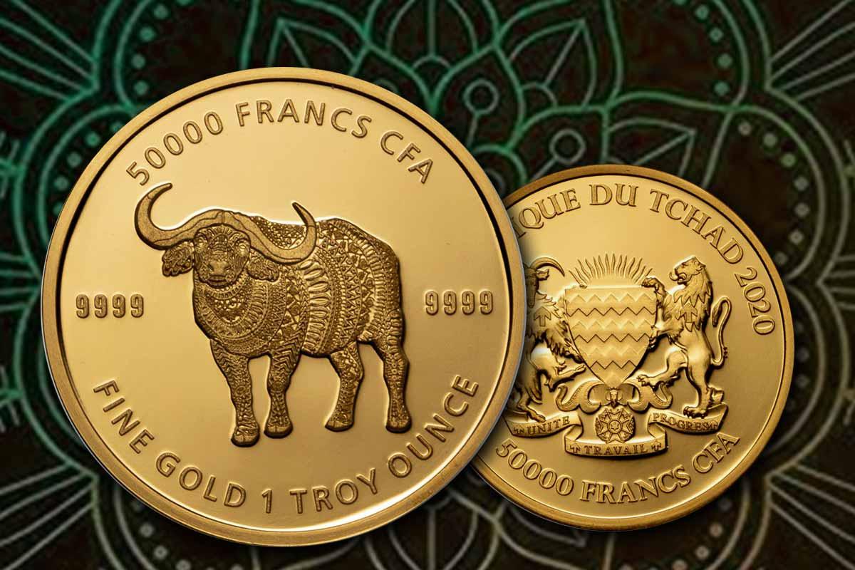 Gold Büffel 2020 Mandala Tschad - Jetzt vergleichen!