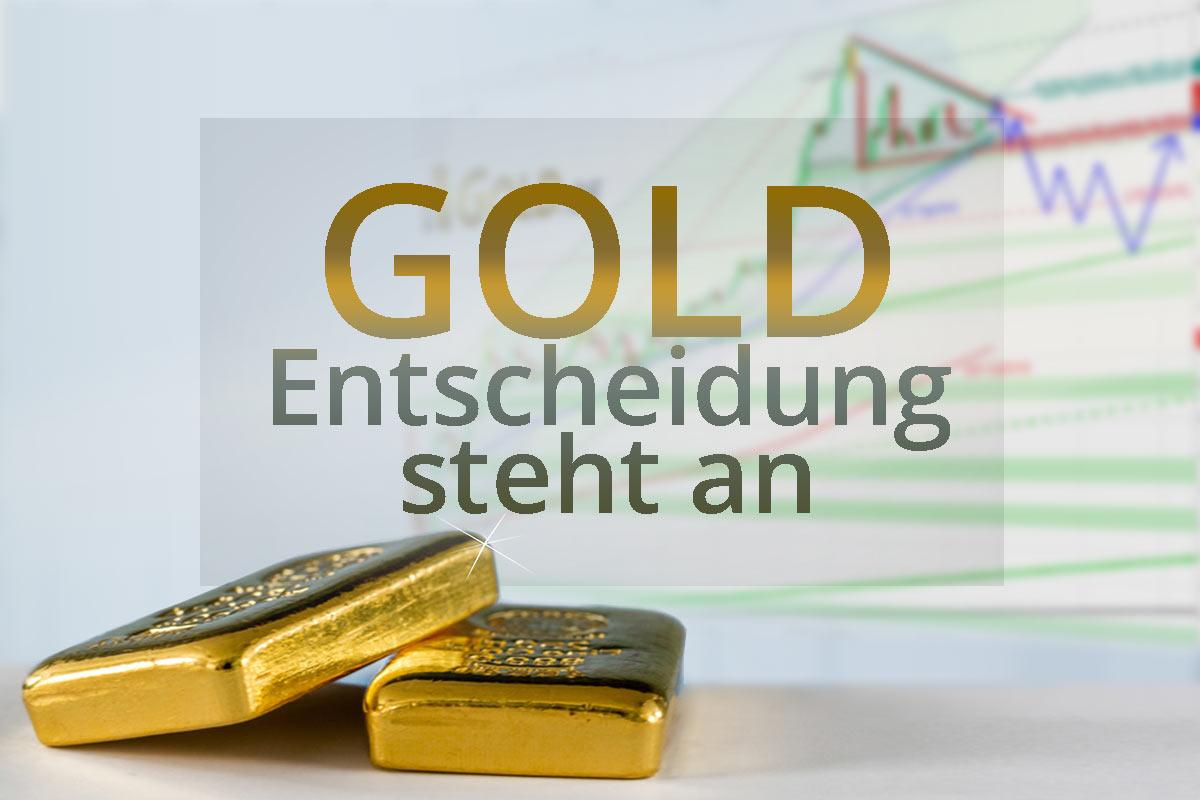 Entscheidung bei Gold steht an